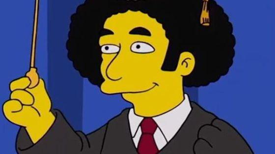 Gustavo Dudamel a son personnage Simpson !
