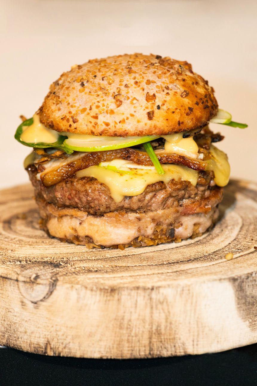 Le Chaillet, le burger 100 pour 100 ardéchois  vainqueur de la coupe de France 2019