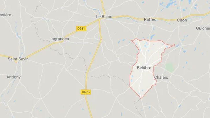 Les terres agricoles sont situées entre les communes du Blanc, de Bélâbre et de Ruffec.