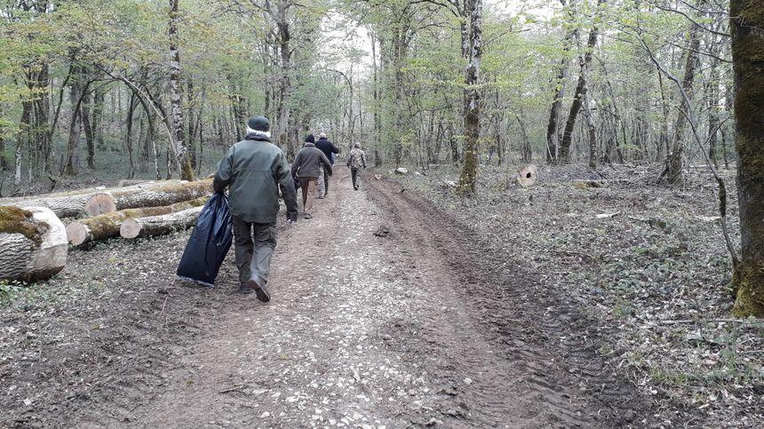 Plus de soixante chasseurs se sont retrouvés au hameau des Grandes Baraques