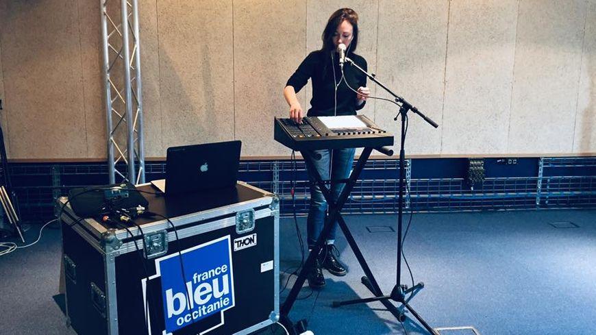 DeLaurentis en session France Bleu