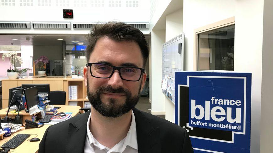 Damien Charlet, le vice président de PMA était l'invité de France Bleu Belfort Montbéliard à 7h45