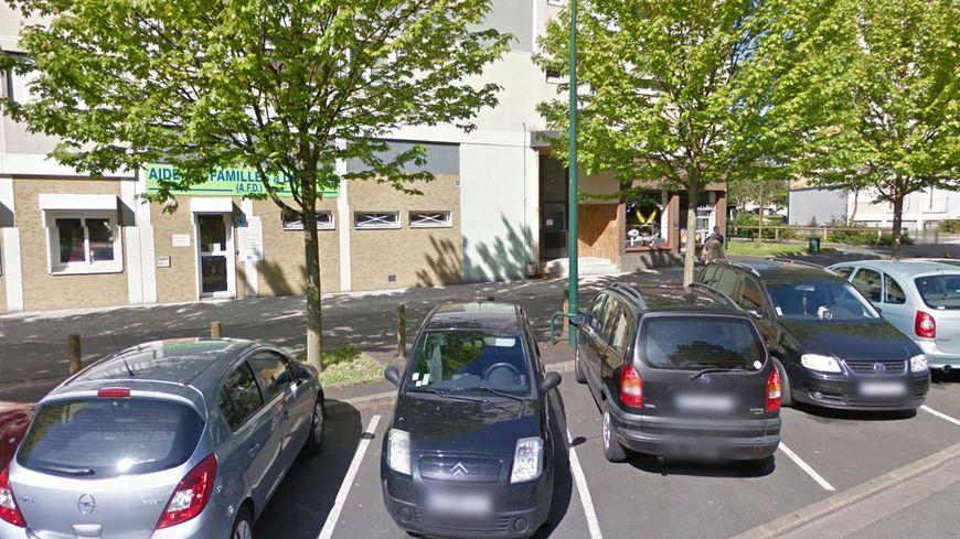 L'agression a eu lieu avenue Bernard Louvet, à Châteauroux