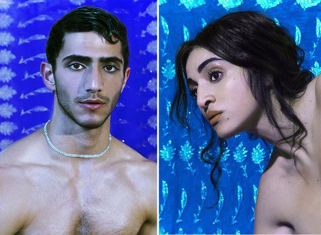 Camélia Jordana, l'enfant du pays, et le mannequin syrien Ahmad Kontar, sont les figures des affiches du festival