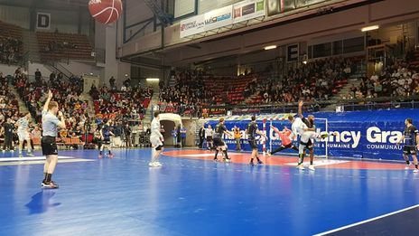 Handball - Coupe de France : le Grand Nancy Métropole battu en demi-finale par Dunkerque, 17-27