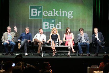 """L'équipe de la série """"Breaking Bad"""""""