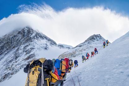 L'ascension de l'Everest