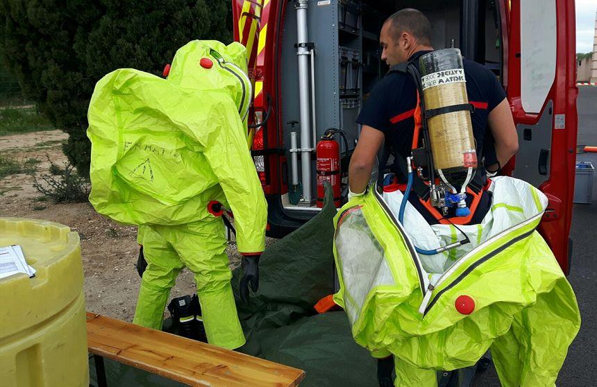 Les pompiers s'équipent... lourdement