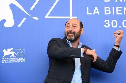 Le comédien, humoriste et réalisateur Kad Merad, pendant le Festival du film de Venise le 2 septembre 2017.