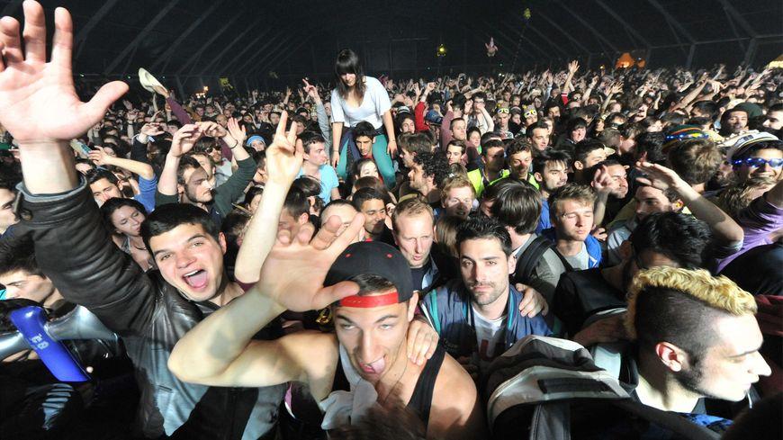 Le public lors des concerts du Printemps de Bourges