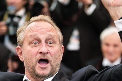 Benoît Poelvoorde, acteur et humoriste, à Cannes le 13 mai 2018.