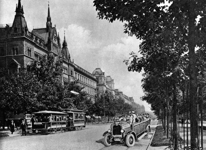 Sühnhaus sur le Schottenring, Vienne (Autriche), dans les années 1920