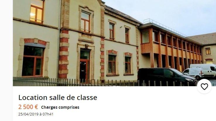 Les parents d'élèves ont mis une annonce de location sur Le Bon Coin pour protester contre la possible fermeture de l'école maternelle