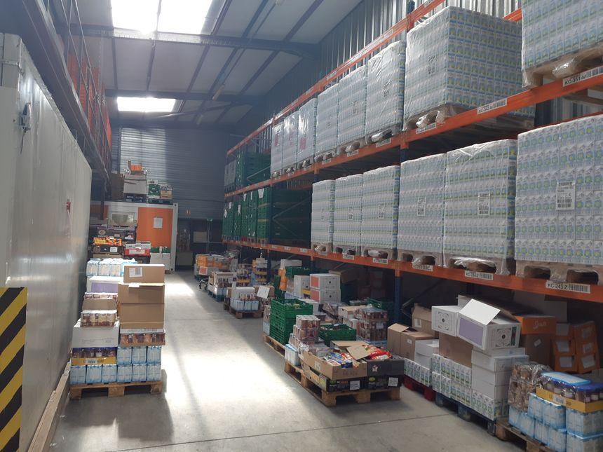 Un peu plus de 2 000 tonnes par an transitent par la banque alimentaire de l'Isère