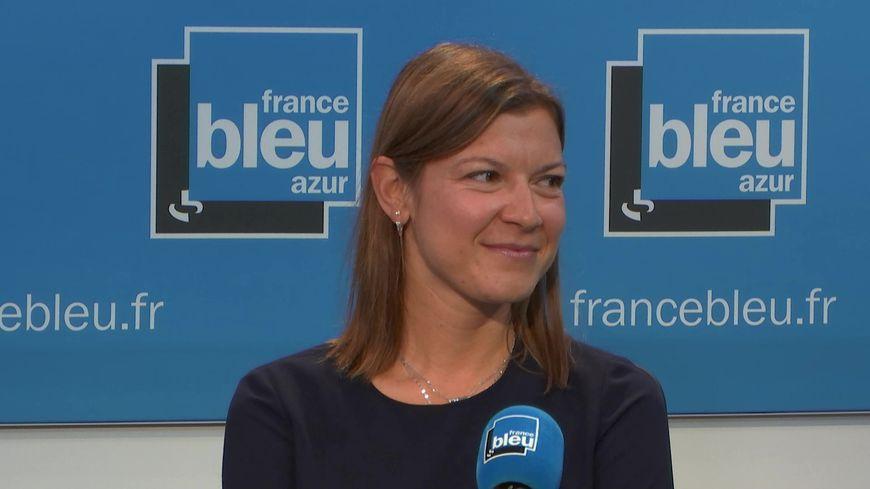 Le docteur Jo-Hanna Planchard dans le studio de France Bleu Azur Matin