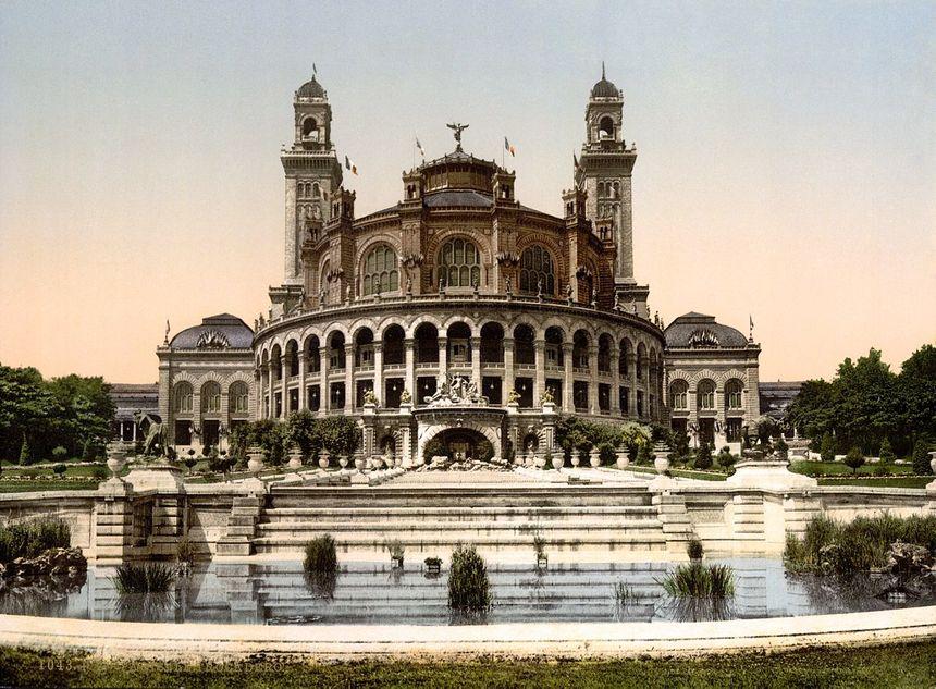L'ancien palais du Trocadéro