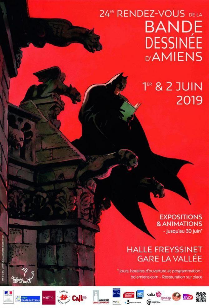 Les RDV de la BD 2019 à Amiens