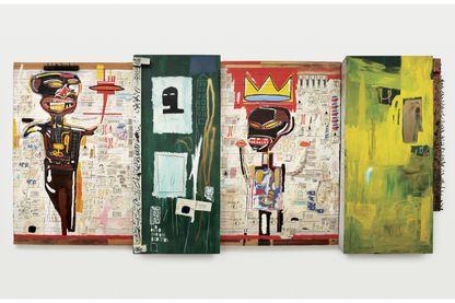 Jean-Michel Basquiat. Grillo, 1984.