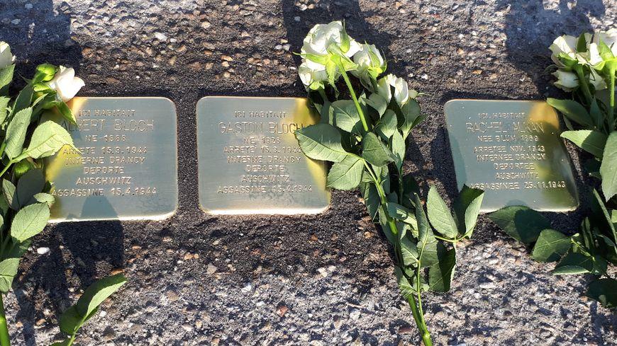 Pour la première fois, des pavés mémoriels sont posés en Alsace en souvenir des victimes du nazisme.