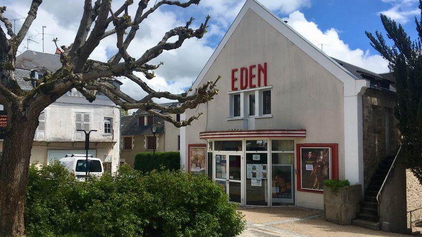 Le cinéma L'Eden à La Souterraine est menacé de fermeture.