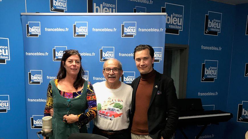 Nathalie MAZET, André CHIRON et Paulin REYNARD dans Aqui sian bèn.