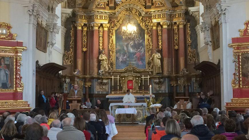 Gabriel Grandjacques, adjoint au patrimoine à la mairie de Saint-Gervais fait le parallèle avec l'incendie de Notre-Dame à Paris