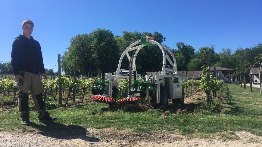 Le robot est désormais utilisé dans les vignobles de Monbazillac