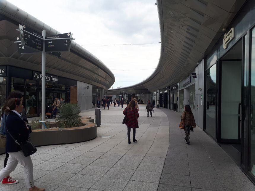 Le centre commercial Odysseum à Montpellier