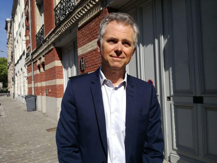 """Thierry Pauchet est le président du groupe """"Un autre Lille"""", il est candidat aux élections municipales de 2020."""