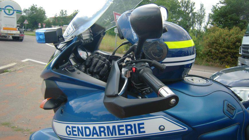 La voiture a été flashée par les gendarmes de Lure (illustration).