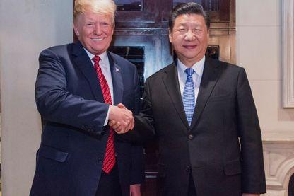 Donald Trump et Xi Jingping à Buenos Aires en décembre 2018
