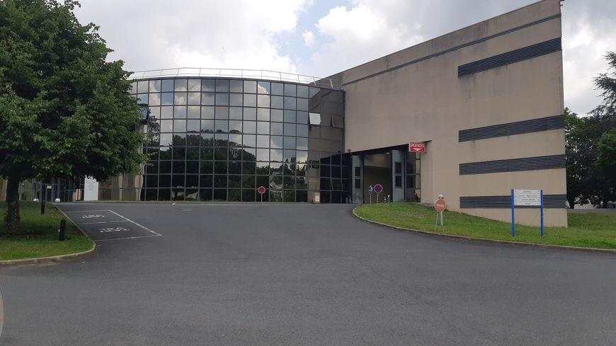 Le centre hospitalier du Blanc où se trouvait la maternité, fermée en octobre 2018