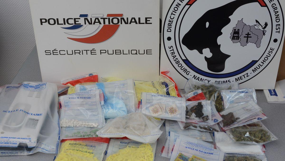 Démantèlement d'un trafic de drogues de synthèse entre Metz et Nancy