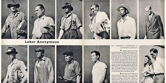 Enquête photographique de Walker Evans pour «Fortune»