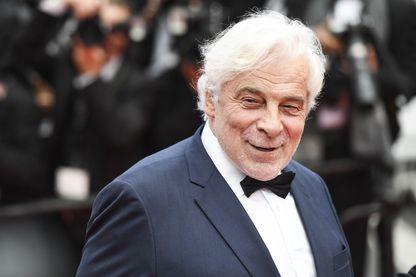 Jacques Weber, acteur, réalisateur et scénariste, à Cannes au Festival le 14 mai 2018.