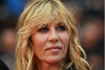 La comédienne Mathilde Seigner au Festival de Cannes le 18 mai 2019.