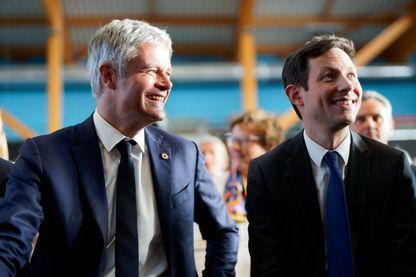 Laurent Wauquiez et François-Xavier Bellamy