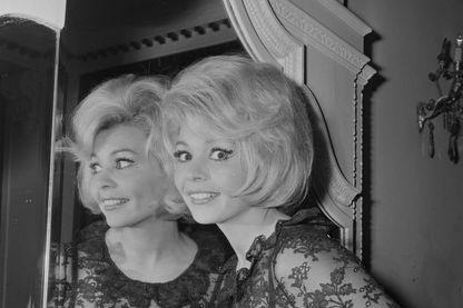 L'actrice, Patricia Viterbo le 27 janvier 1965.
