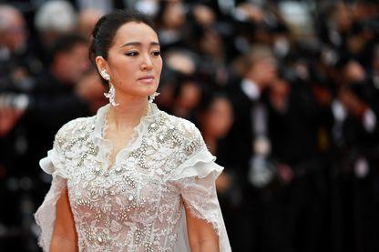L'actrice chinoise Gong Li au festival de Cannes 2019
