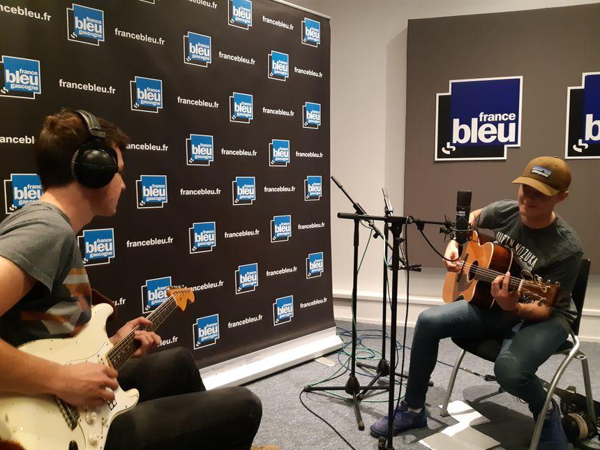 Matt et son guitariste Lukas