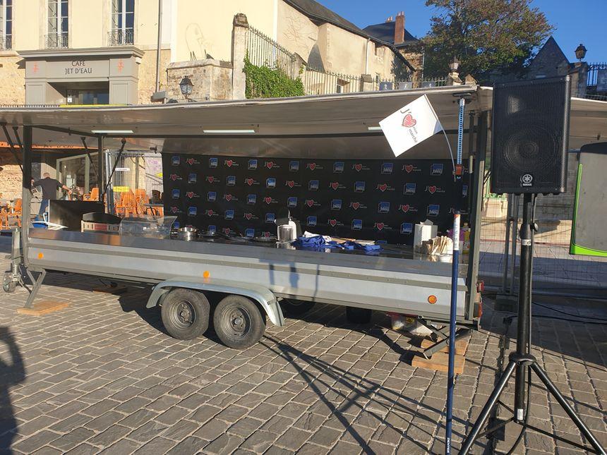 Le studio cuisine mobile France Bleu