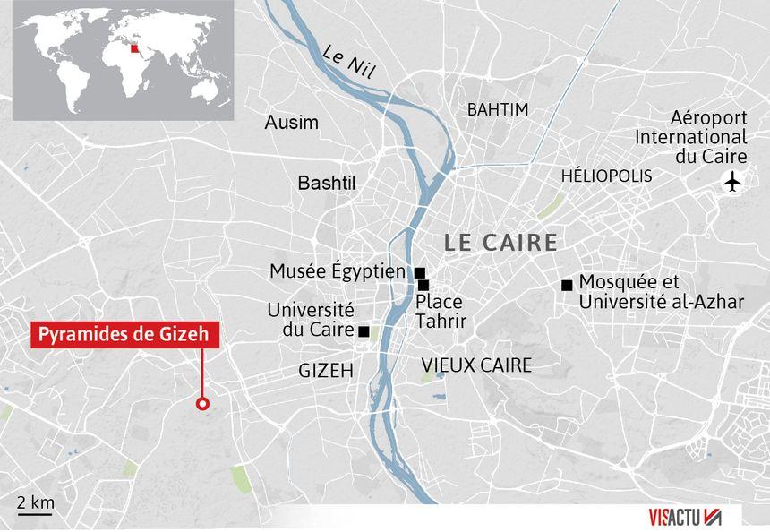 Explosion au passage d'un car en Egypte