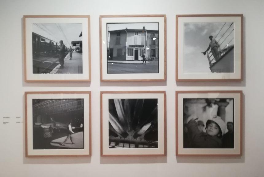 Les photos exposées ont été prises avec un Rolleiflex 6x6
