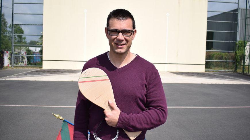 François Bussière joueur de Pelote Basque à Périgueux