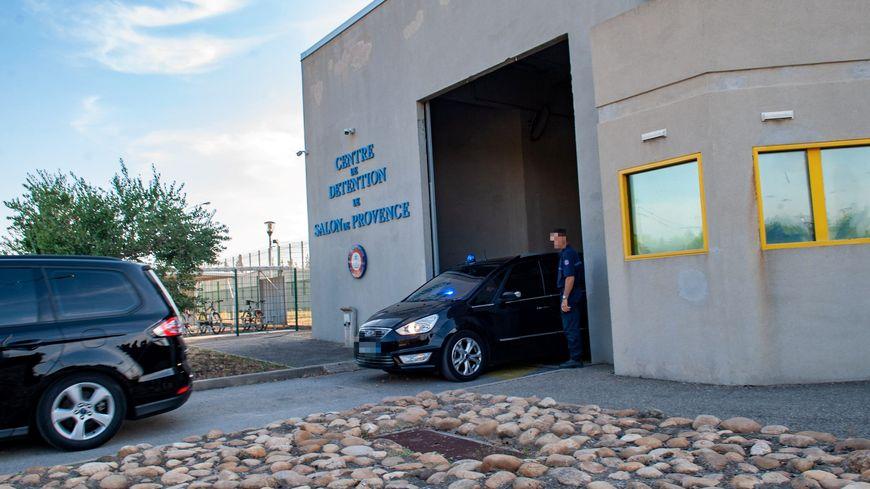 Le centre de détention de Salon-de-Provence.