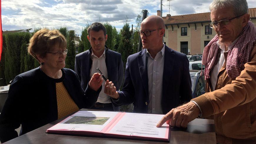 Le projet est financé par la Région, la SNCF et la communauté de communes du Sud Gironde.