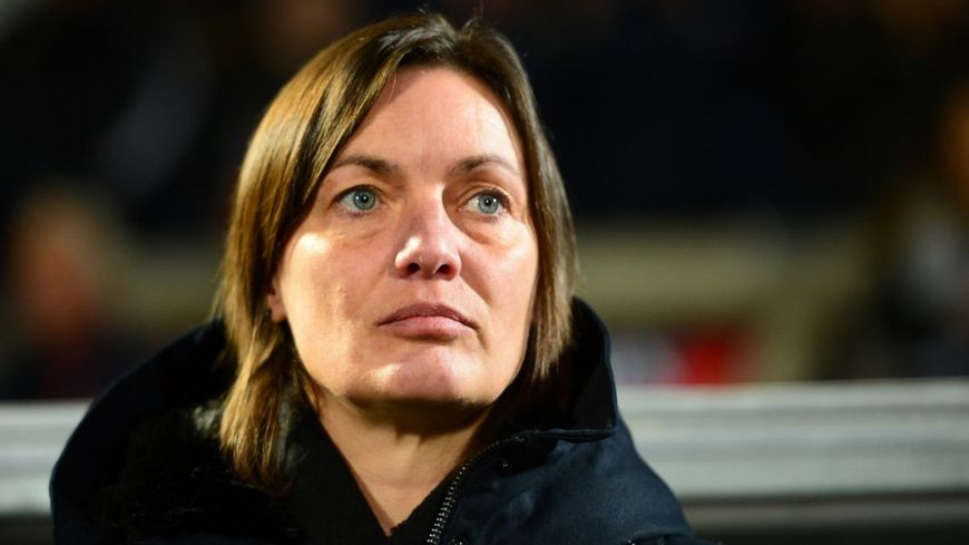 Corinne Diacre, la sélectionneure de l'équipe de France féminine de football