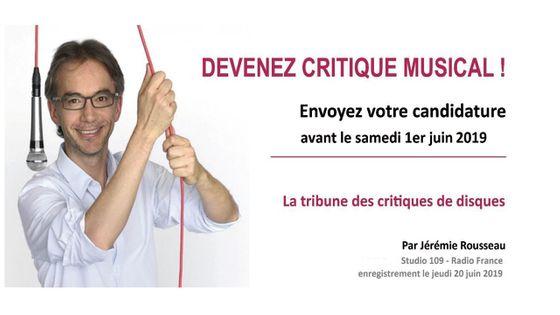 Devenez critique musical - Jérémie Rousseau