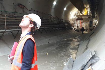 Le chantier de la future ligne 15 du métro francilien