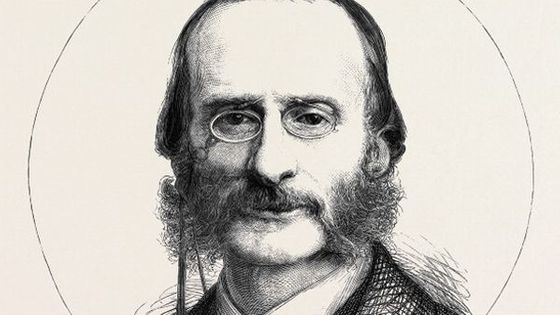 Composers Of Opera Bouffe: M. Jacques Offenbach, 1874 Engraving © Heritage Images / Contributeur